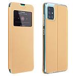 Avizar Etui folio Dorée pour Samsung Galaxy A51