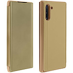 Avizar Etui folio Dorée Design Miroir pour Samsung Galaxy Note 10