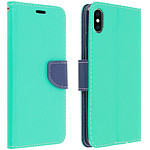 Avizar Etui folio Vert pour Apple iPhone XS Max