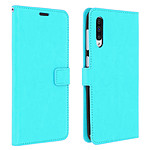 Avizar Etui folio Turquoise pour Samsung Galaxy A50 , Samsung Galaxy A30s