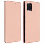 Avizar Etui folio Rose pour Samsung Galaxy Note 10 Lite