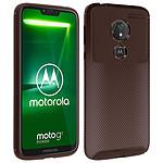Avizar Coque Marron pour Motorola Moto G7 Power