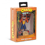 Crash bandicoot - Figurine Heavy Metal Statue Crash 13cm