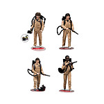Stranger Things - Pack 4 figurines Ghostbusters 15 cm