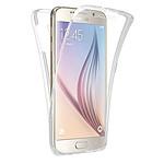 LA COQUE FRANCAISE Coque Galaxy S7 Samsung 360 degrés intégrale protection avant arrière silicone transparente