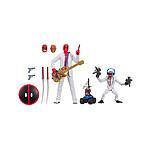 Marvel Legends Series - Pack 2 figurines Deadpool & Hit-Monkey 8-15 cm