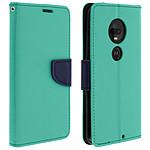 Avizar Etui folio Vert pour Motorola Moto G7 , Motorola Moto G7 Plus