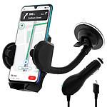 Avizar Pack auto Noir pour Smartphones à connecteur Micro-USB