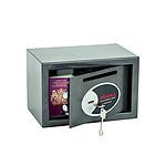 Phoenix Coffre-fort anti-effraction à clés vela home/office 10L gris