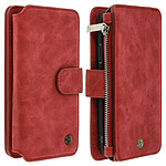 Avizar Etui folio Rouge pour Apple iPhone X , Apple iPhone XS