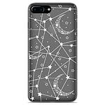 1001 Coques Coque silicone gel Apple iPhone 7 Plus motif Lignes étoilées