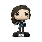 Star Wars The Mandalorian - Figurine POP! Cara w/ badge 9 cm