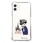 LA COQUE FRANCAISE Coque iPhone 11 anti-choc souple angles renforcés transparente Madame à Paris