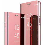 Destination télécom Etui pour Iphone 5/5s folio effet miroir rose