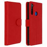 Avizar Etui folio Rouge pour Xiaomi Redmi Note 8T , Xiaomi Redmi Note 8