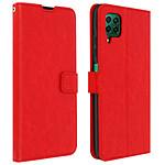 Avizar Etui folio Rouge pour Huawei P40 Lite