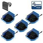 Qubino Pack De 5 Modules Volets Roulants Z-wave Plus Encastrables - Qubino QUB_LOT5_ZMNHCD1