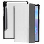 Avizar Etui folio Blanc pour Samsung Galaxy Tab S6 10.5