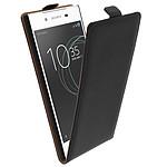 Avizar Etui à clapet Noir pour Sony Xperia L1