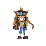 Crash Bandicoot - Figurine Deluxe Crash with Jetpack 14 cm