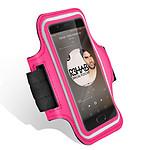 Avizar Brassard sport Fuchsia pour Tous les Smartphones