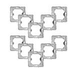 Fibaro Lot de 10 adaptateurs pour montage de modules Walli sur façades Gira 55
