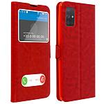 Avizar Etui folio Rouge pour Samsung Galaxy A71