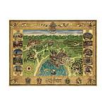 Harry Potter - Puzzle Carte de Poudlard (1500 pièces)
