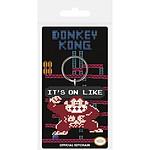 Nintendo - Porte-clés Donkey Kong It's On Like 6 cm