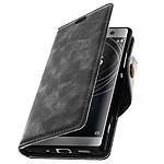 Avizar Etui folio Gris pour Sony Xperia XA2