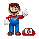 World of Nintendo - Figurine Odyssey Mario with Cappy 10 cm