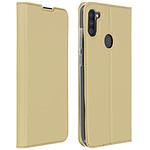 Avizar Etui folio Dorée pour Samsung Galaxy A11
