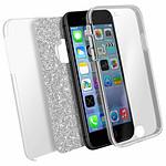 Avizar Coque Argent pour Apple iPhone 7 Plus , Apple iPhone 8 Plus