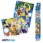 Dragon Ball Z - Set 2 Chibi Posters Groupes (52 X 38 Cm)