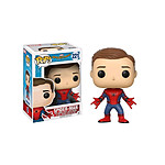 Spider-Man Homecoming - Figurine POP! Spider-Man (Unmasked) 9 cm