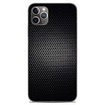 1001 Coques Coque silicone gel Apple iPhone 11 Pro Max motif Dark Metal