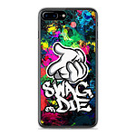 1001 Coques Coque silicone gel Apple IPhone 8 Plus motif Swag or die