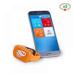 No stress Bracelet de sécurité piscine avec application smartphone  Kit 3
