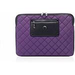 """KNOMO Housse nylon pour Macbook pro 13"""" Ultraviolet"""