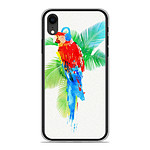 1001 Coques Coque silicone gel Apple iPhone XR motif RF Tropical party