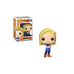 Dragonball Z - Figurine POP! Android 18 9 cm