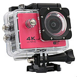 Yonis Caméra sport waterproof Rose Y-5261