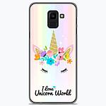 1001 Coques Coque silicone gel Samsung Galaxy J6 2018 motif Unicorn World