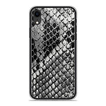 1001 Coques Coque silicone gel Apple iPhone XR motif Texture Python