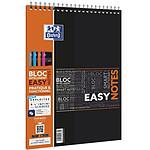 Oxford bloc spirale 'Easynotes' A4+ connecté scribzee 160 pages seyes coloris aléatoire