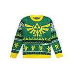 The Legend of Zelda - Sweat Christmas Hyrule Bright - Taille XL