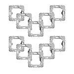 Fibaro Lot de 10 adaptateurs pour montage de modules Walli sur façades Legrand