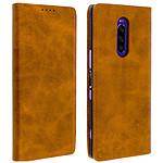 Avizar Etui folio Camel pour Sony Xperia 1