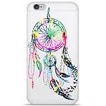 1001 Coques Coque silicone gel Apple IPhone 7 Plus motif Dreamcatcher Gris