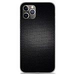 1001 Coques Coque silicone gel Apple iPhone 11 Pro motif Dark Metal